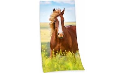 Herding Badetuch »Pferd«, (1 St.), mit Pferdemotiv kaufen