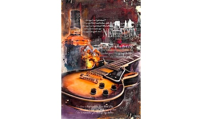 Reinders! Deco-Panel »Gitarre & Whiskey«, 60/90 cm kaufen
