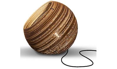 think paper Tischleuchte »Globe 290«, E27, 1 St., Wohnleuchten aus Papier, Hänglampe,... kaufen