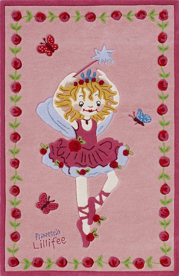 Teppich LI-2200-01 Prinzessin Lillifee rechteckig Höhe 10 mm handgetuftet