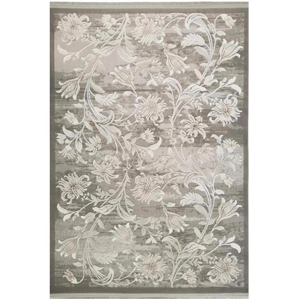 RESITAL The Voice of Carpet Teppich »Vestige 015«, rechteckig, 11 mm Höhe, Kurzflor mit Hoch-Tief-Struktur, Wohnzimmer