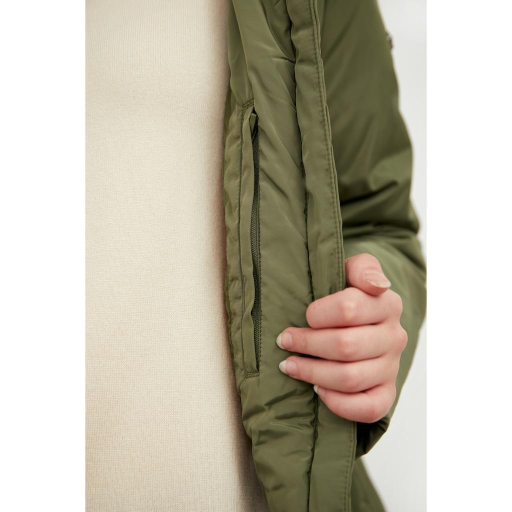 Finn Flare Outdoorjacke, mit praktischen Taschen
