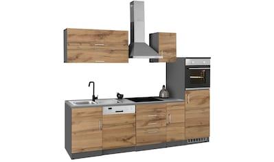 HELD MÖBEL Küchenzeile »Colmar«, mit E-Geräten, Breite 270 cm kaufen
