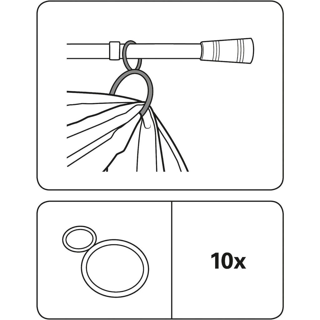 GARDINIA Dekoklammer »Dekoring Metall«, (2 St.)
