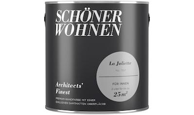 SCHÖNER WOHNEN FARBE Farbe »Architects' Finest La Joliette«, matt 2 l kaufen