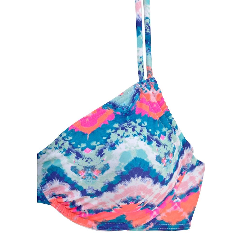 Venice Beach Bügel-Bikini-Top »Face«, mit herausnehmbaren Cups