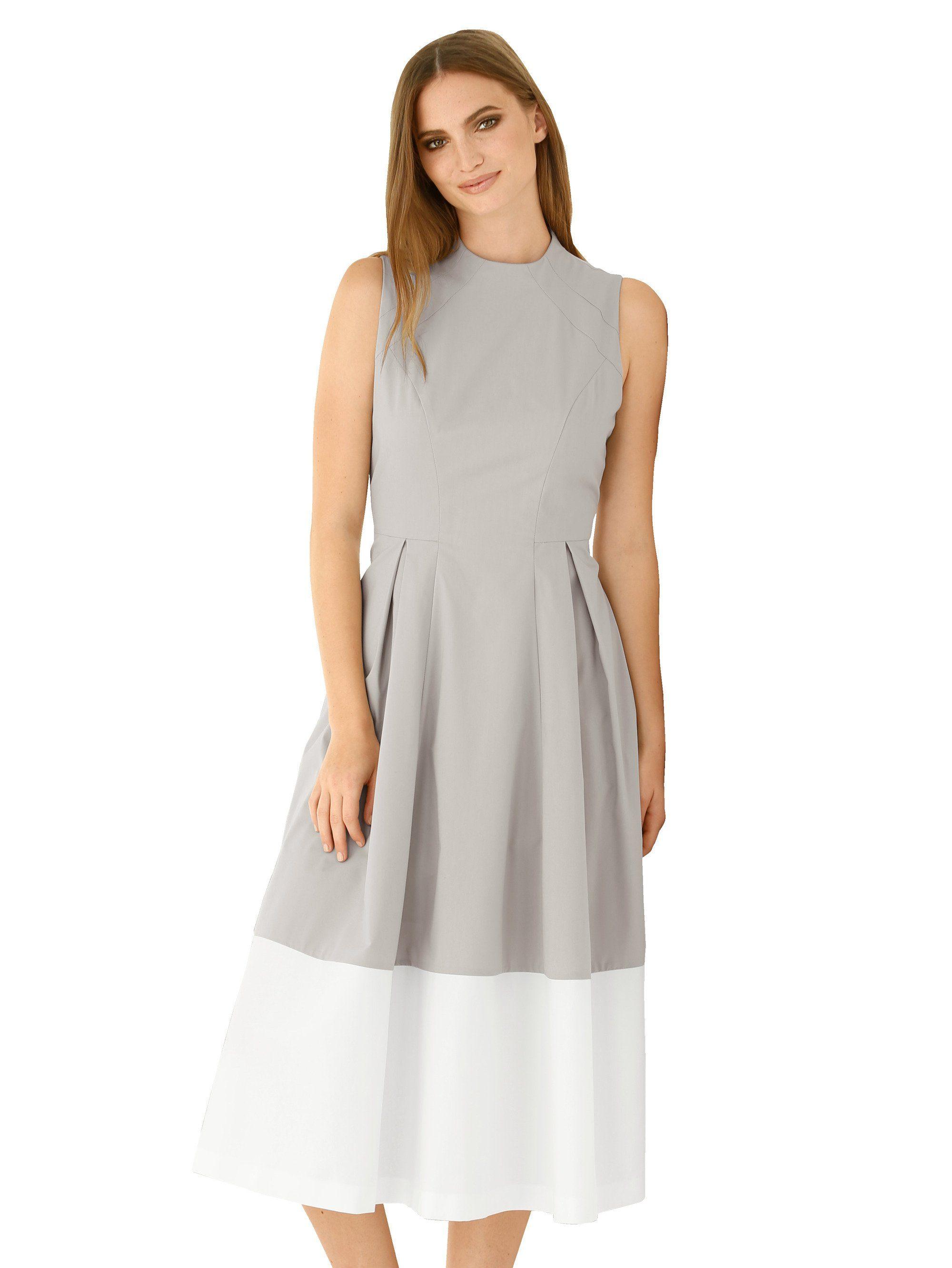 Alba Moda Kleid mit kleinem Stehkragen für | BAUR