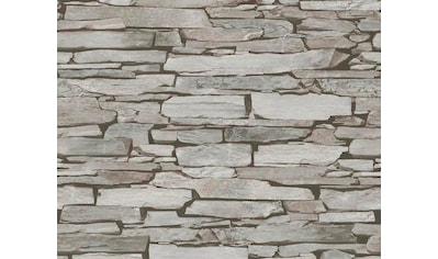 LIVINGWALLS Satintapete »Authentic Walls Naturstein Optik« kaufen