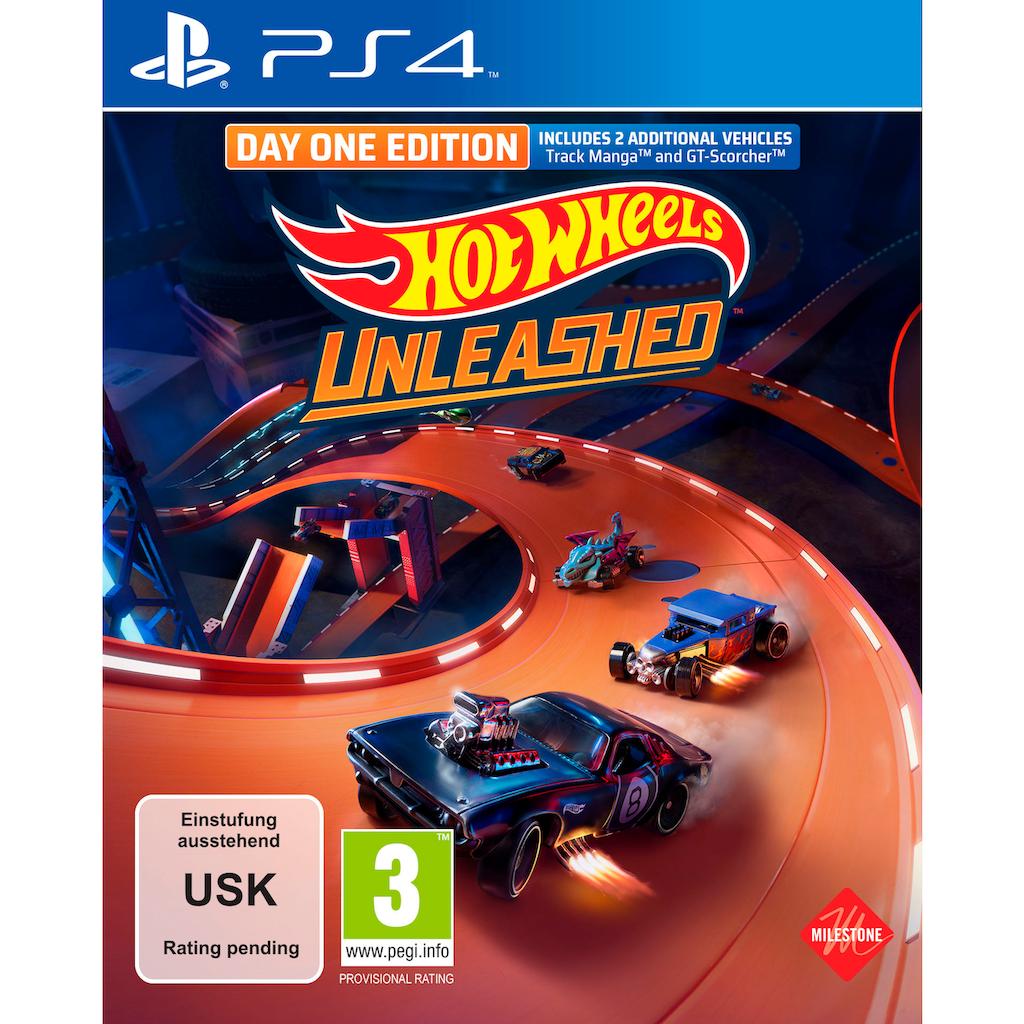 Koch Media Spiel »Hot Wheels Unleashed Day One Edition«, PlayStation 4