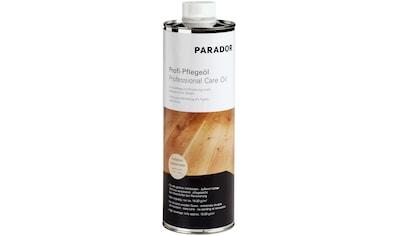 PARADOR Bodenpflege »Profi - Pflegeöl«, für Echtholzböden, farblos, 1 l kaufen