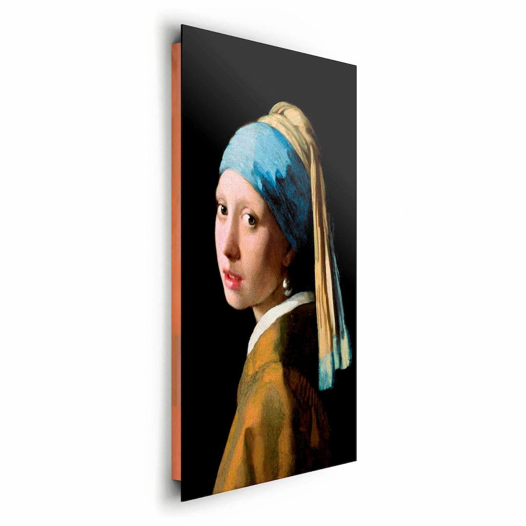 Reinders! Deco-Panel »J.Vermeer-Mädchen mit Ohrgehänge«, 60/90 cm