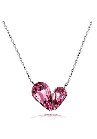 goldmaid Damencollier Herz geschwungen 925 Sterlingsilber Zirkonia pink kaufen