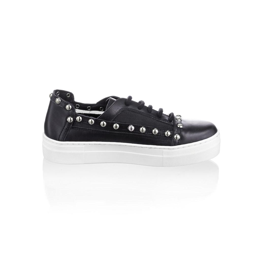 Alba Moda Sneaker, aus Kalbsleder