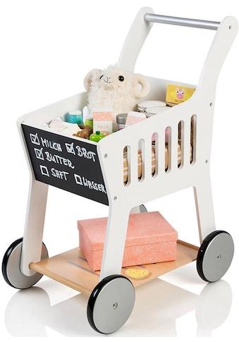 MUSTERKIND® Spiel-Einkaufswagen »Rubus, weiß« kaufen