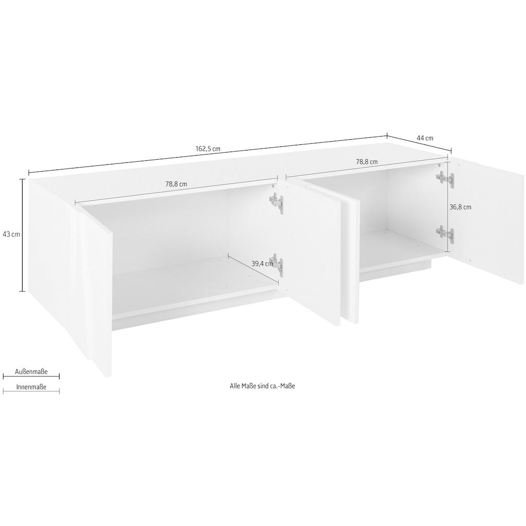 Tecnos Lowboard »PING«, Breite 162,4 cm