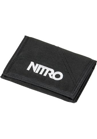 NITRO Geldbörse »Walled, Black« kaufen