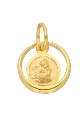 Adelia´s Kettenanhänger »585 Gold Anhänger Taufring mit Zirkonia Ø 10,1 mm« kaufen