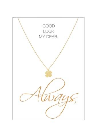 HERZ - KARTE Silberkette »Always« kaufen
