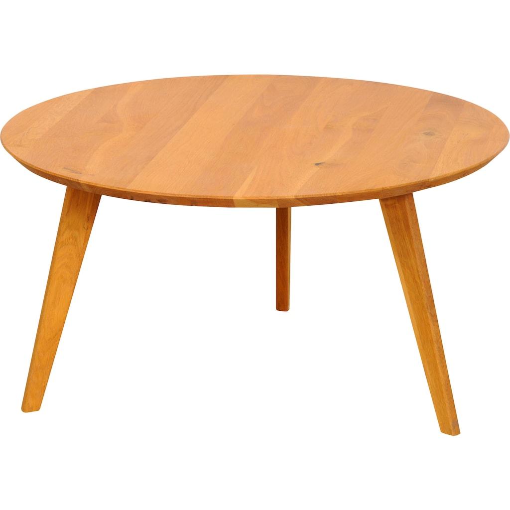 Premium collection by Home affaire Beistelltisch »Olpe«, aus Massivholz, hochwertig Verarbeitet