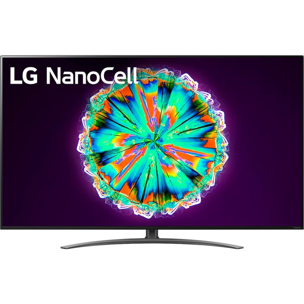 "LG LED-Fernseher »55NANO917NA«, 139 cm/55 "", 4K Ultra HD, Smart-TV, NanoCell-100 Hz Panel-Slim Direct LED Backlight mit Full Array Dimming"