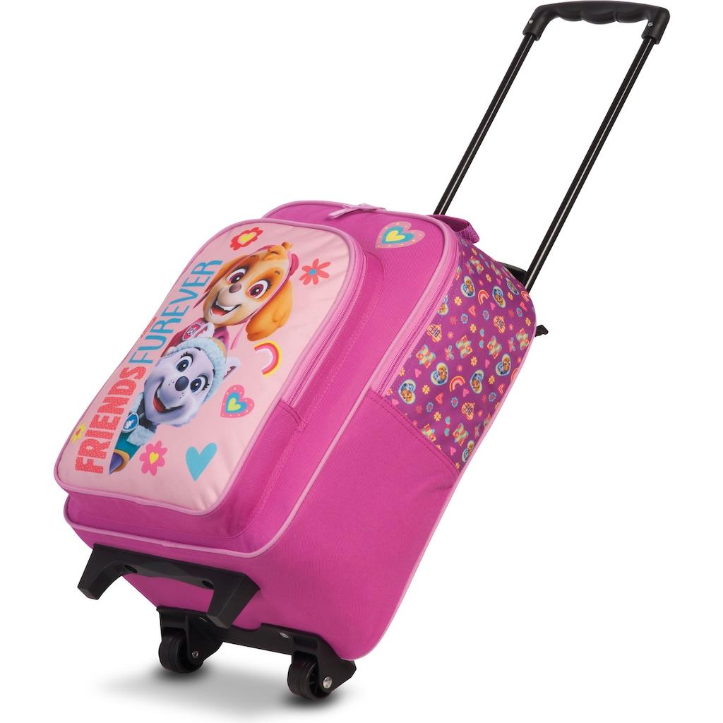 fabrizio® Kinderkoffer »Paw Patrol-Set Rucksack und Trolley, rosa«, (2 St.), 2 Rollen