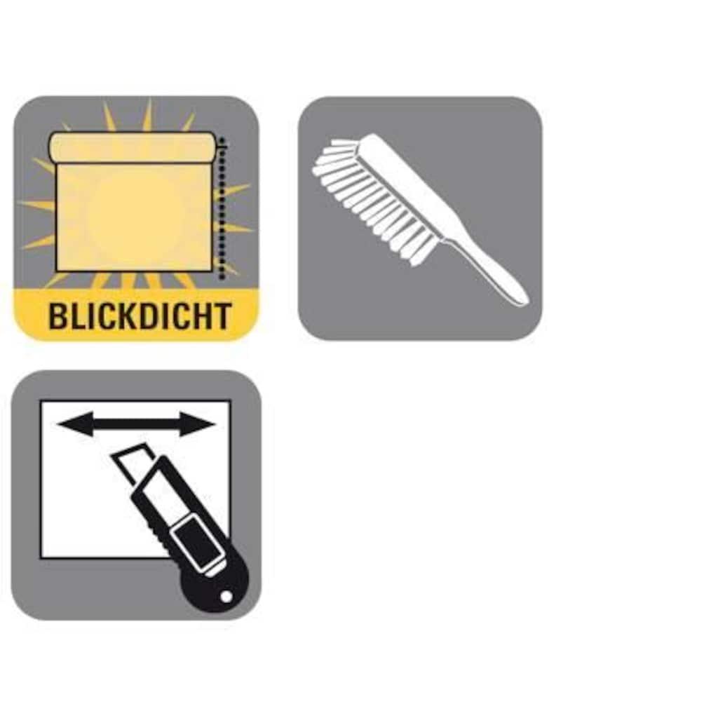 GARDINIA Seitenzugrollo »EASYFIX Rollo Dekor Streifen«, Lichtschutz, ohne Bohren, im Fixmaß