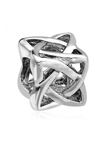 Nenalina Charm-Einhänger »Knoten Würfel Bead Anhänger 925 Silber« kaufen