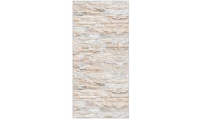 MYSPOTTI Duschrückwand »fresh F3 Bruchsteinwand Beige«, 100 x 210 cm kaufen
