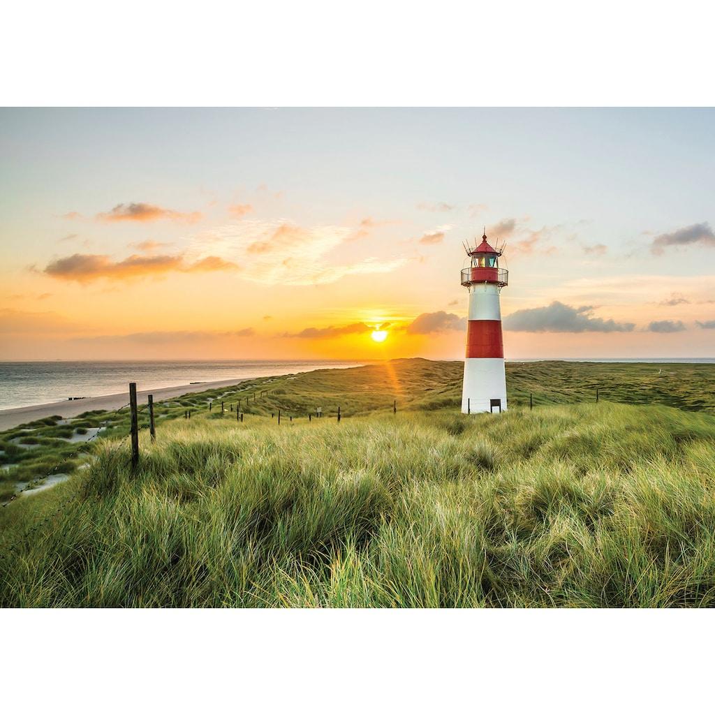 Consalnet Fototapete »Leuchtturm«, verschiedene Motivgrößen, für das Büro oder Wohnzimmer