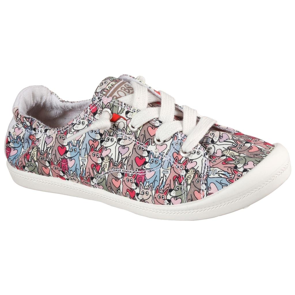 Skechers Slip-On Sneaker »BEACH BINGO«, mit Hunde-Print