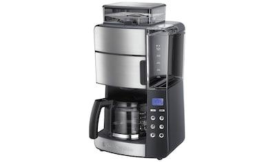 RUSSELL HOBBS Kaffeemaschine mit Mahlwerk Grind & Brew Digitale Kaffeemaschine 25610 - 56, Papierfilter 1x4 kaufen