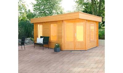 WOLFF FINNHAUS Gartenhaus »Maja 40 - B/1«, BxT: 503x349 cm, inkl. Fußboden kaufen