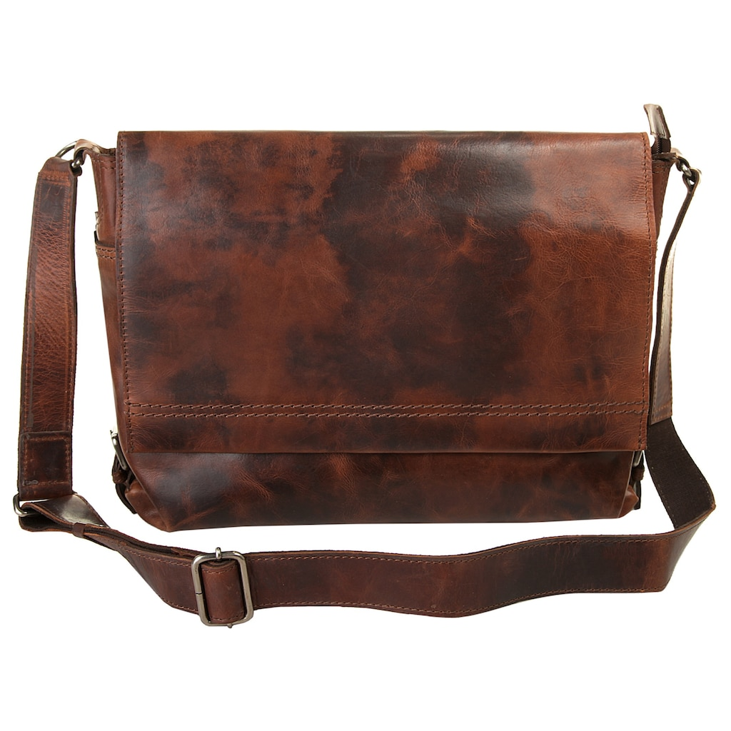 Harold's Messenger Bag »SADDLE«, vegetabil gegerbt