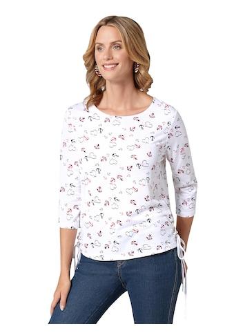 Ambria Shirt mit erfrischendem Anker -  und Herz - Muster allover kaufen