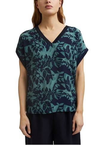 Esprit Collection Blusenshirt, mit floralem Muster Print kaufen