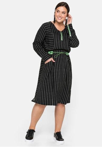 Sheego Tunikakleid, in der Taillie weitenverstellbar kaufen