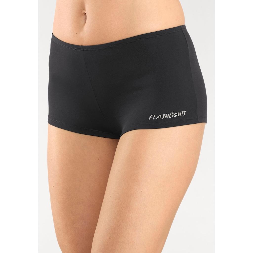 Flashlights Panty, (5 St.), mit seitlichem Logodruck