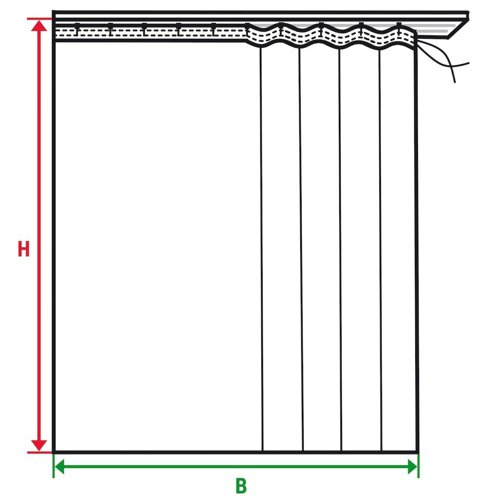 Wirth Vorhang nach Maß »MONTROSE«, Breite 142 cm