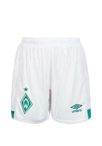 Umbro Funktionsshorts »Sv Werder Bremen 18/19 Heim« kaufen