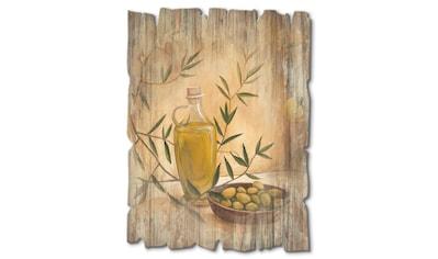 Artland Holzbild »Oliven und Zitronen«, Arrangements, (1 St.) kaufen