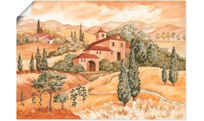 Artland Wandbild »Landschaft IV« kaufen