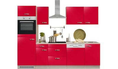 OPTIFIT Küchenzeile »Faro«, ohne E-Geräte, Breite 270 cm kaufen