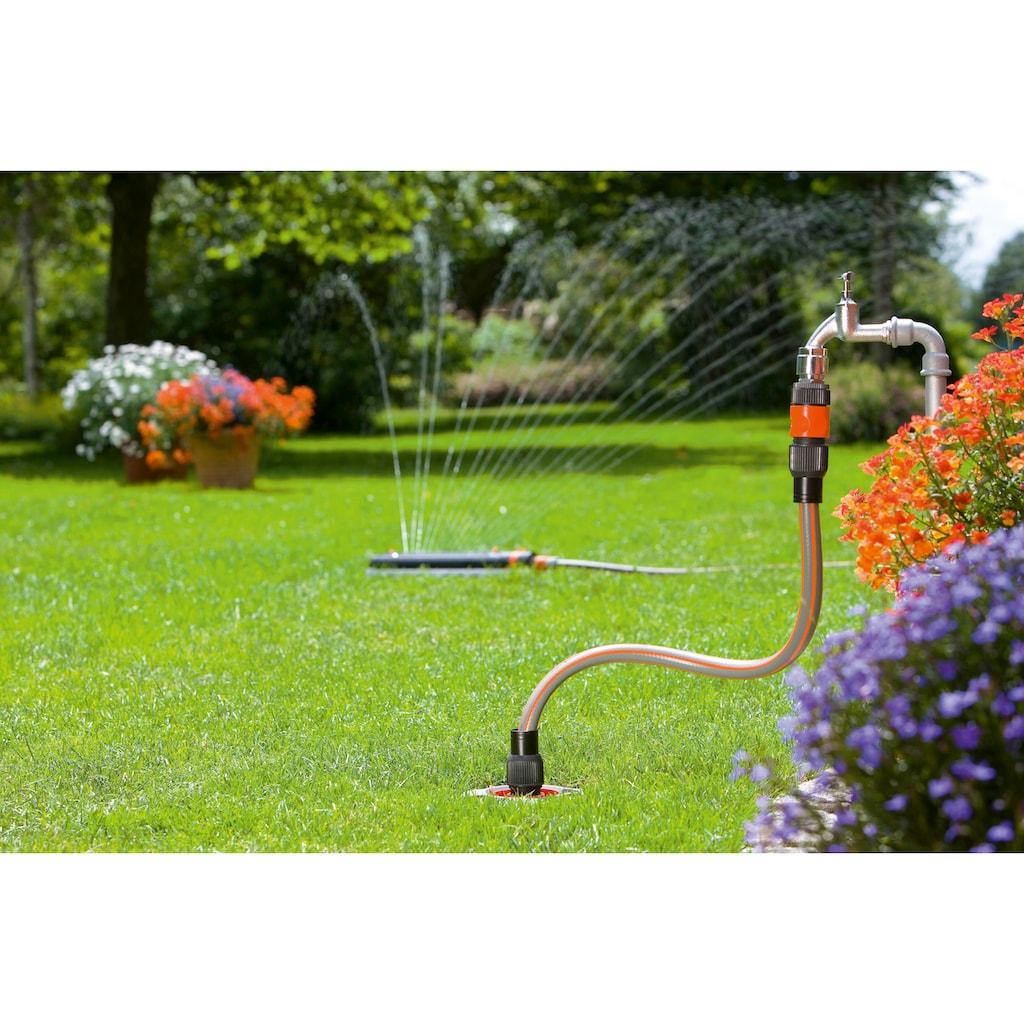 GARDENA Bewässerungssystem »Garden Pipeline, 08255-20«, Starter Set mit 2 Wasserentnahmestellen