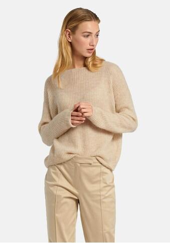 Uta Raasch Strickpullover »Pullover mit U-BootAusschnitt«, und überschnittener Schulter kaufen