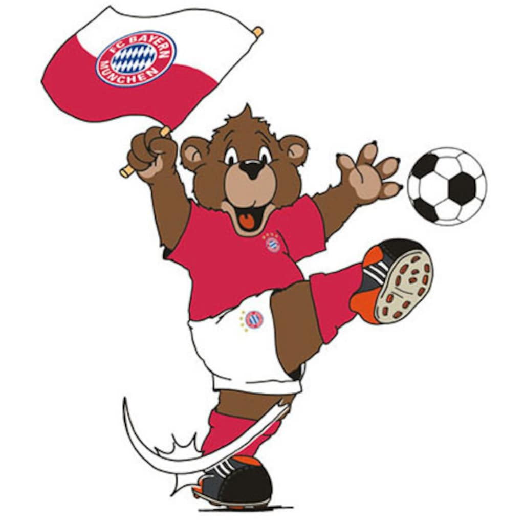 Wall-Art Wandtattoo »FC Bayern München Berni winkt«