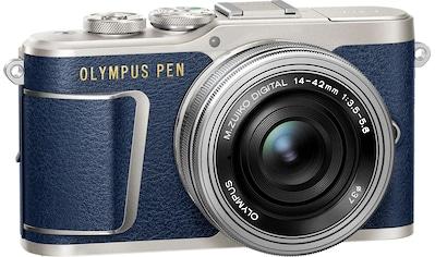 Olympus »E - PL9 14 - 42mm EZ Pancake Kit inkl. Ladegerät + Akku« Systemkamera (M.ZUIKO DIGITAL 1442mm, 16,1 MP, 3x opt. Zoom, Bluetooth WLAN (Wi - Fi)) kaufen