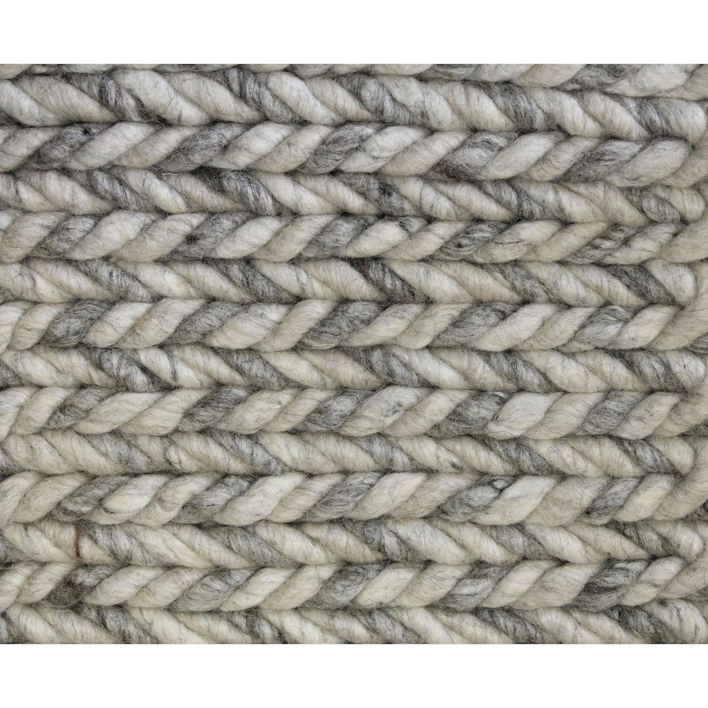 Hochflor-Teppich, »Enja«, Dekowe, rechteckig, Höhe 25 mm, handgewebt