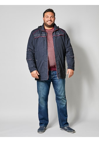 Men Plus by Happy Size Jacke mit abnehmbarer Kapuze kaufen