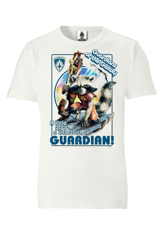 logoshirt -  T-Shirt mit Rocket-Print
