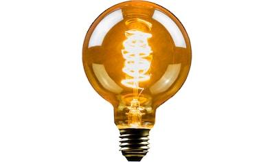 BLULAXA LED-Filament »Vintage«, E27, 4 St., Extra-Warmweiß, 4er-Set, Vintage Globe, 95 mm, gold, superwarmweis kaufen